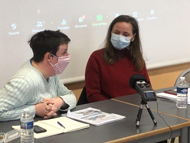 Lucie Le Corguillé, invitée des rencontres de la Résilience pour parler des zones humides et de leurs enjeux
