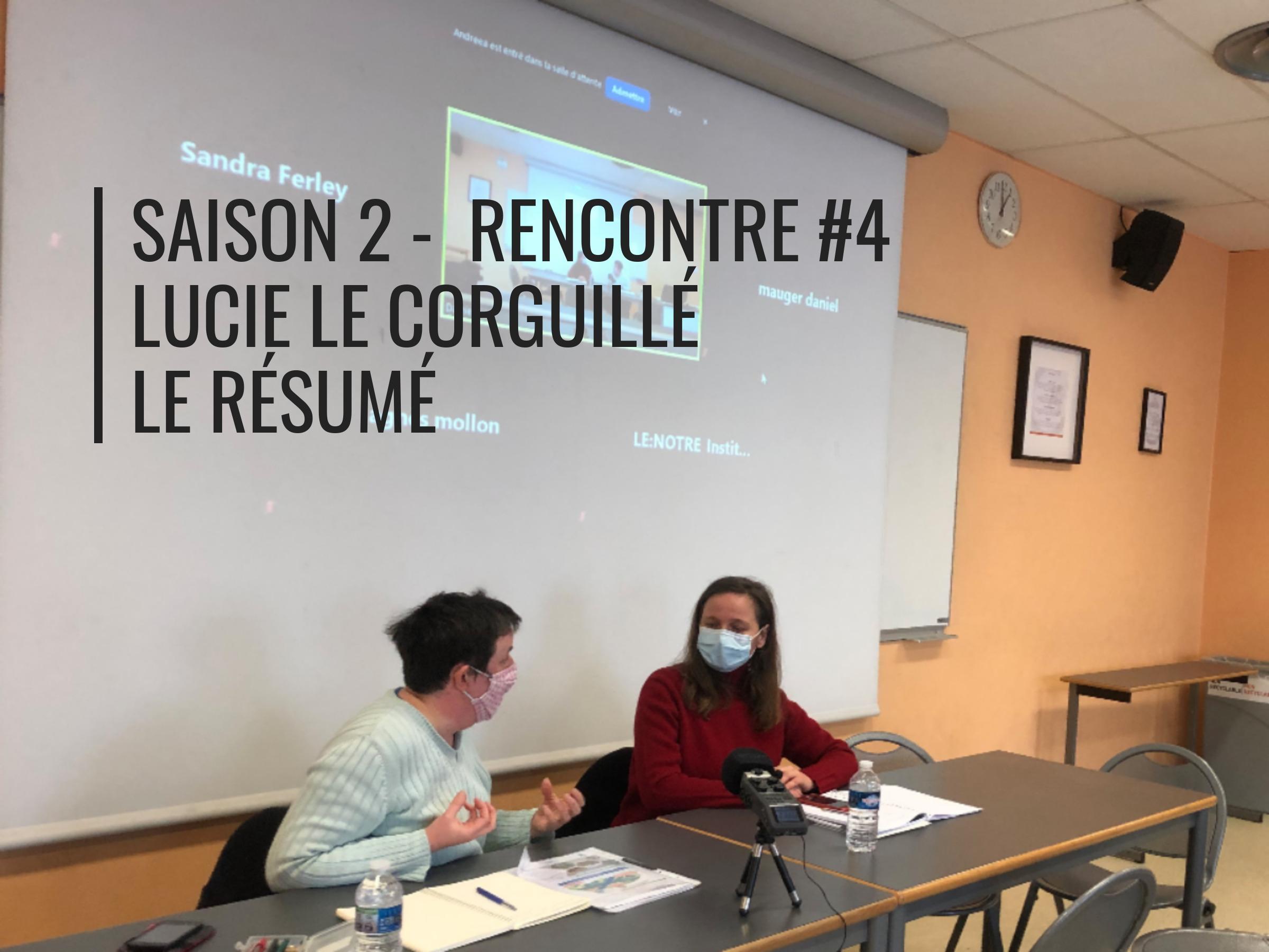 Rencontres de la résilience saison 2 #4 Lucie le corguillé