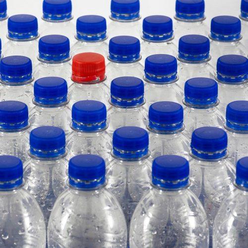 bouteilles plastique Willfried Wende Pixabay